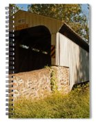 Rudolph Arthur Covered Bridge Spiral Notebook