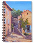 Rue De Gordes Spiral Notebook