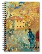 Rue Du Seminaire Spiral Notebook