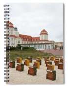 Ruegen Island Beach - Germany Spiral Notebook