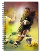 Rugby 01 Spiral Notebook
