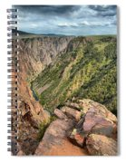 Rugged Edge Of The Canyon Spiral Notebook