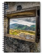 Ruin With A View  Spiral Notebook