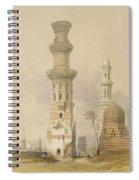 Ruined Mosques In The Desert Spiral Notebook