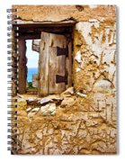 Ruined Wall Spiral Notebook