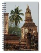 Ruins At Sukhotai Spiral Notebook