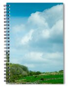 Ruins Of Irish Castle Spiral Notebook