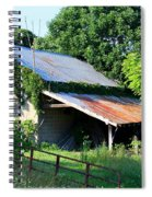Ruins Of Old Garage Spiral Notebook