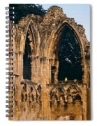 Ruins Of St. Mary's Abbey Spiral Notebook