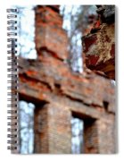 Ruins Of Sweetwater Manufacturing Company Spiral Notebook