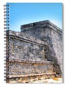 Ruins Of Tulum Mexico Spiral Notebook
