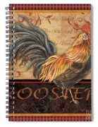 Ruler Of The Roost-1 Spiral Notebook