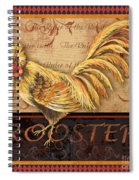 Ruler Of The Roost-2 Spiral Notebook