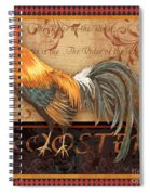 Ruler Of The Roost-4 Spiral Notebook