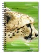 Run Cheetah Run Spiral Notebook