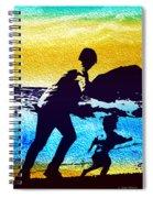 Run Daddy Run Spiral Notebook