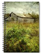 Run Down Barn Spiral Notebook