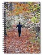 Run Through The Woods Spiral Notebook