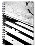 Runner's Shadow Spiral Notebook
