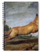 Running Fox Spiral Notebook