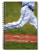 Running Hard Spiral Notebook