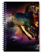 Running Horse Creation Spiral Notebook