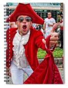 Running Of The Bulls New Orleans Matador Spiral Notebook