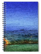 Running On Water Spiral Notebook