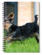 Running Puppy Spiral Notebook