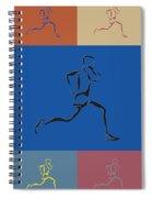 Running Runner2 Spiral Notebook