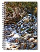 Running Through The Rocks Spiral Notebook