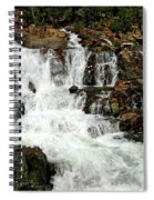 Running Water Glen Alpine Falls Spiral Notebook