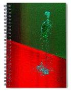 Running Water Man Spiral Notebook