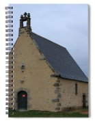 Rural Church In Brittany Spiral Notebook