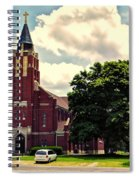 Rural Church Usa Spiral Notebook
