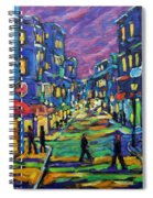 Rural City Scape By Prankearts Spiral Notebook