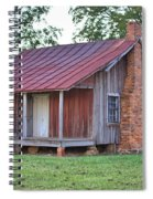Rural Georgia Cabin Spiral Notebook