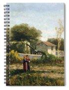 Rural Landscape Spiral Notebook