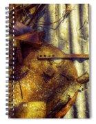 Rural Patina Spiral Notebook