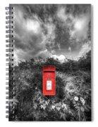 Rural Post Box Spiral Notebook