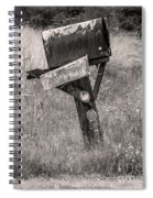 Rural Route Mail Call  Spiral Notebook