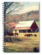 Ruralscape Spiral Notebook