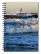 Rush Hour On Cape Cod Spiral Notebook