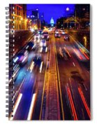 Rush Hour Traffic On North Capitol Show Spiral Notebook