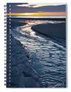Rush To The Sun Spiral Notebook