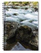 Rushing Stream Spiral Notebook