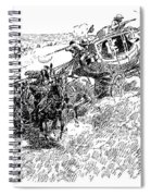 Russell Overland Stage Spiral Notebook