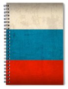 Russia Flag Vintage Distressed Finish Spiral Notebook