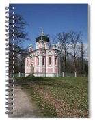 Russian Church Spiral Notebook