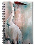 Russian Crane Spiral Notebook